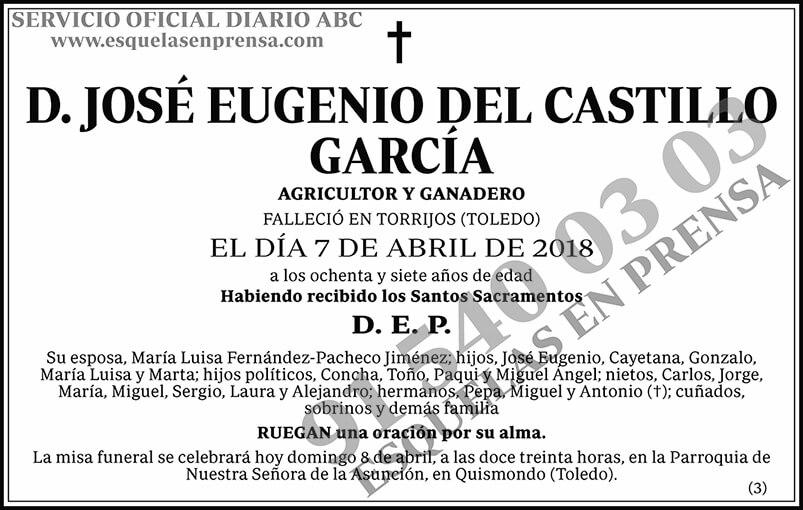 José Eugenio del Castillo García